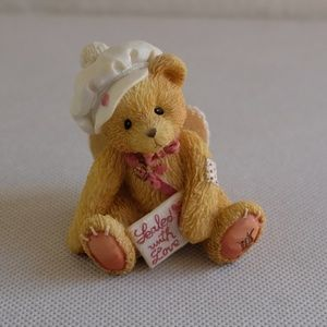 "Cherished Teddies ""Sealed With Love"" Figurine"